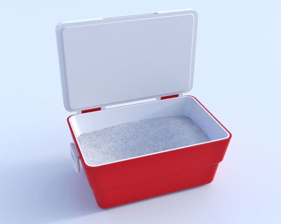 Picture of Ice Chest Model Poser Format