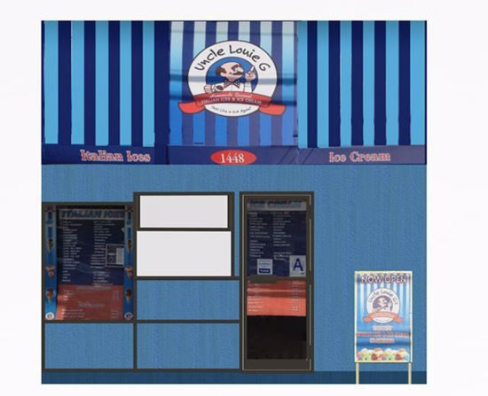 Picture of Ice Cream Shop Building Model FBX Format