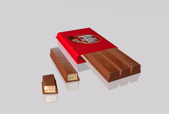 Picture of Kit Kat Candy Bar Model FBX Format