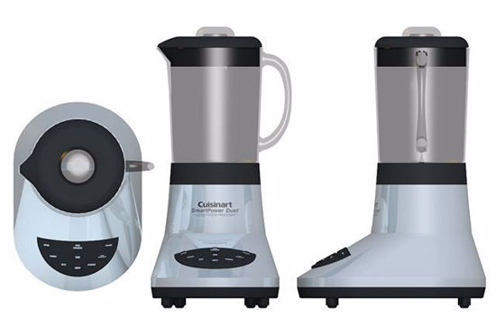 Picture of Kitchen Food Processor Model FBX Format