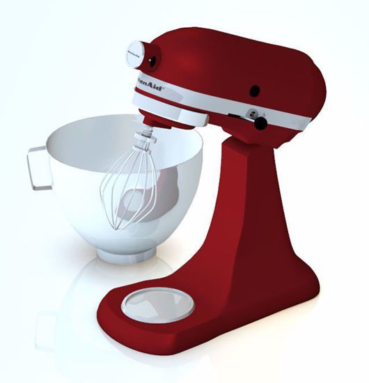 Kitchen Stand Mixer Model Poser Format
