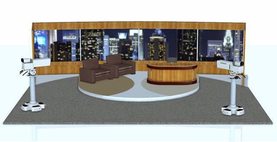 Picture of Late Night TV Talk Show Environment Poser Format