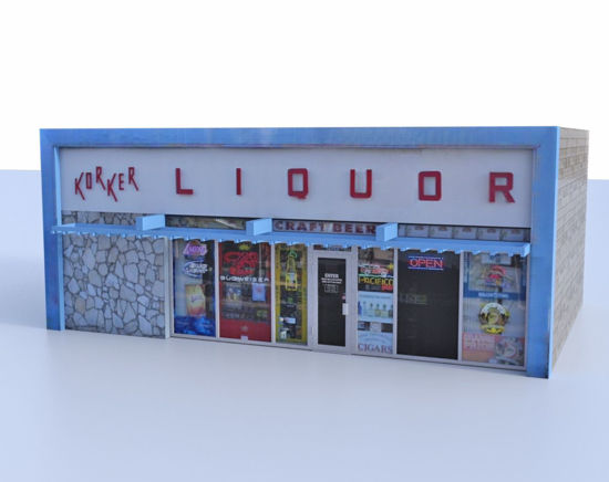 Picture of Liquor Store Model Poser Format