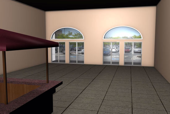 Picture of Mall Entrance Environment FBX Format