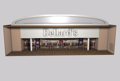 Picture of Mall Large Retail Store Environment FBX Format