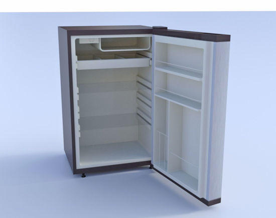 Picture of Mini Refrigerator Model Poser Format