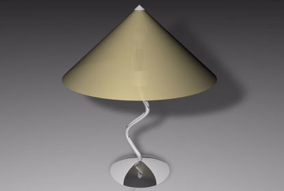 Picture of Modern Art Lamp Model Poser Format