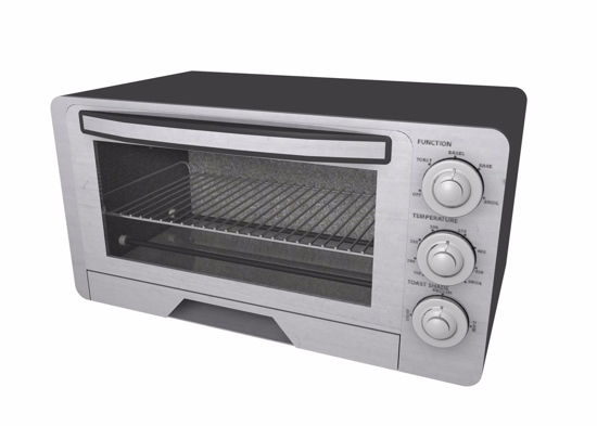 Picture of Modern Toaster Oven Model FBX Format