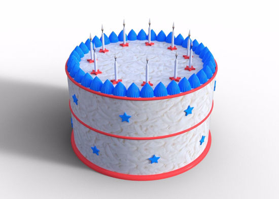 Picture of Modular Cake Model Poser Format