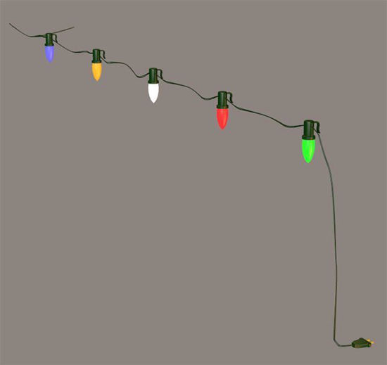 Picture of Modular Christmas House Lights Model Poser Format