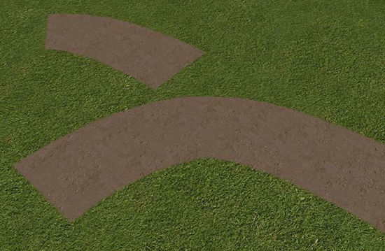 Picture of Modular Paths and Bare Spot Models with Transparent Edges Poser Format