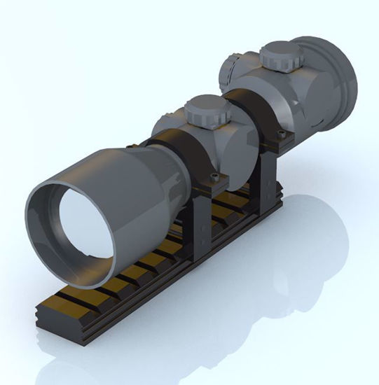 Picture of Modular Weapon Scope Model Poser Format