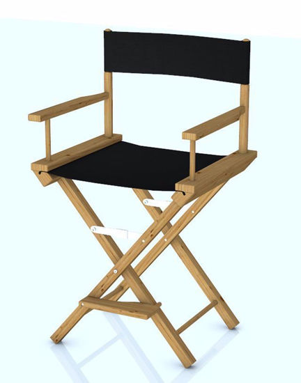 Picture of Movie Directors Chair Model Poser Format