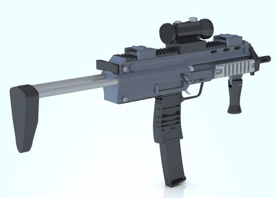 Picture of MP7 Assualt Rifle Model Poser Format
