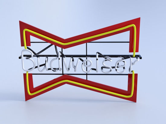 Picture of Neon Bar Sign Models Set 1 Poser Format