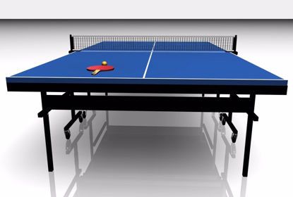 Picture of Ping Pong Table Model FBX Format