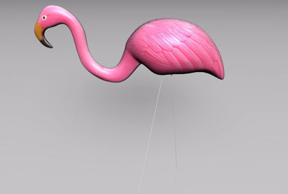 Picture of Pink Flamingo Yard Model FBX Format