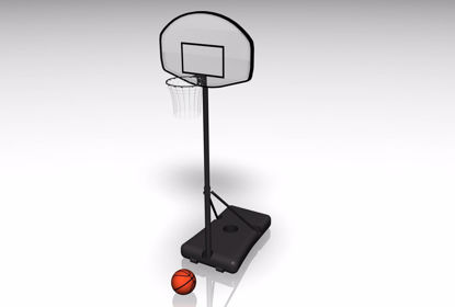 Picture of Portable Basket Ball Goal Model FBX Format
