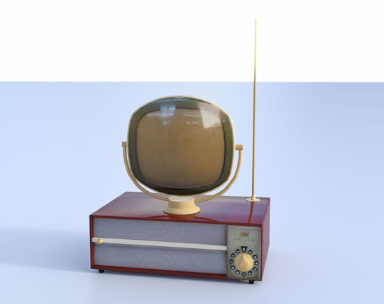 Picture of Predicata TV Model FBX Format