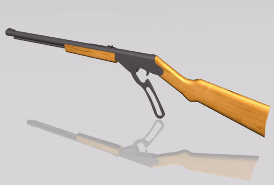 Picture of Red Ryder BB Gun Model FBX Format