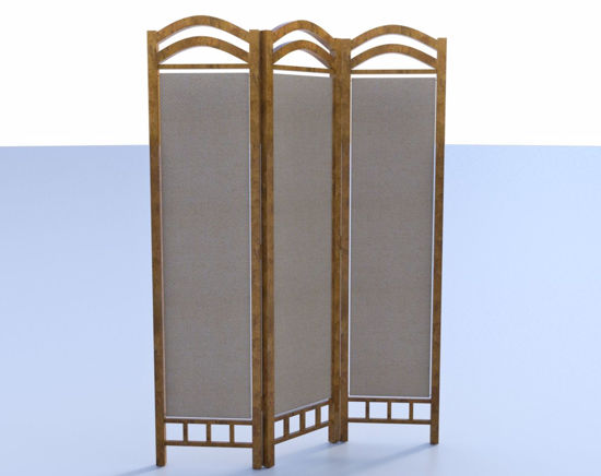 Picture of Room Divider Model Poser Format