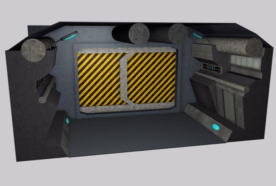 Picture of Sci-Fi Corridor Environment FBX Format