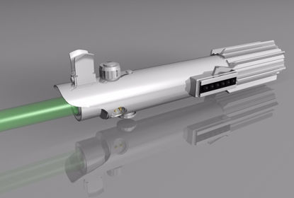 Picture of Sci-Fi Laser Light Saber Model Poser Format