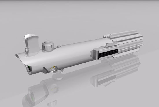 Picture of Sci-Fi Light Saber Weapon Model FBX Format