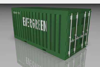 Picture of Shipping Container Model FBX Format