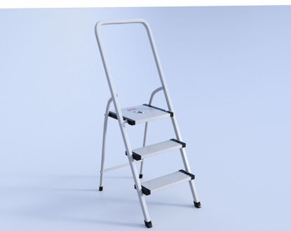 Picture of Step Ladder Model Poser Format