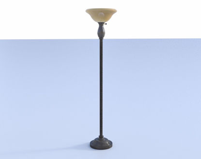 Picture of Torchiere Lamp Model FBX Format