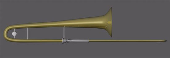 Picture of Trombone Model Poser Format