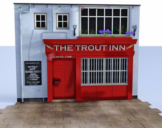 Picture of Trout Inn Scene Poser Format