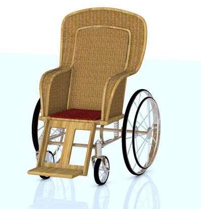 Picture of Victorian Wheelchair Model Poser Format