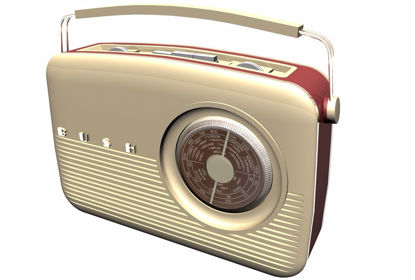 Picture of Vintage Bush Radio Model FBX Format