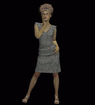 Picture of Vintage Dress for Hivewire3D Dawn Figure