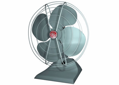Picture of Vintage Electric Fan Model FBX Format