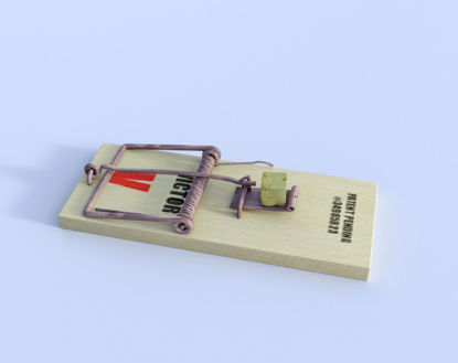 Picture of Wooden Mouse Trap Model Poser Format