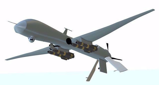 Picture of Predator UAV Drone Model Poser Format