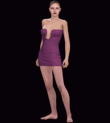 Picture of Sexy Strapless Dress for DAZ Victoria 4
