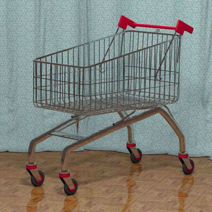 Picture of Shopping Cart Model Poser Format