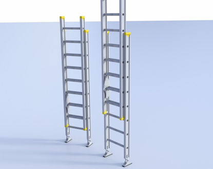 Picture of 16 Foot Extension Ladder Model Poser Format