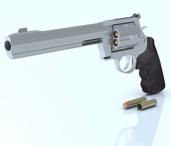 Picture of 44 magnum Pistol Model Poser Format