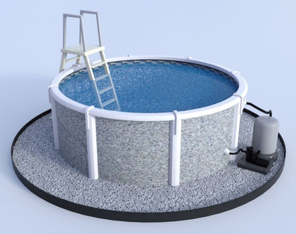 Picture of Above Ground Pool Model Poser Format