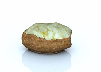 Picture of Baked Potato Model Poser Format