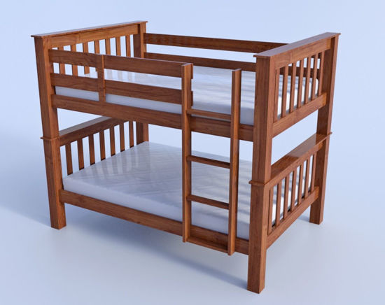 Picture of Bunk Bed Model Poser Format