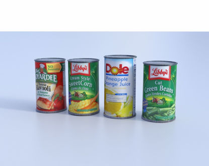 Picture of Canned Food Models Set 1 Poser Format