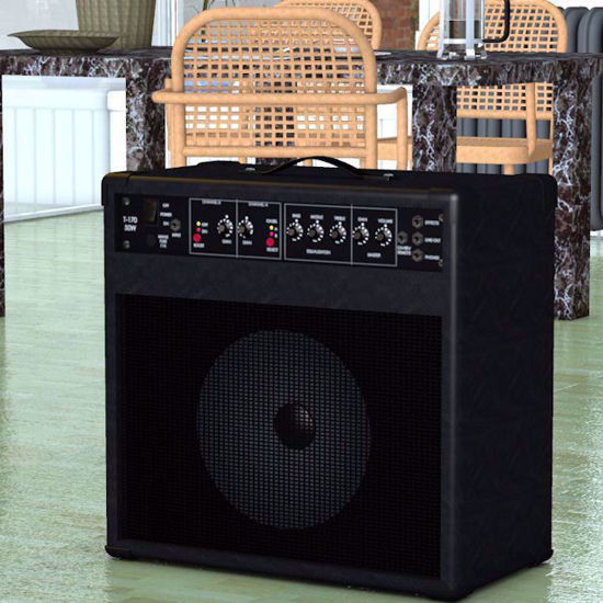Picture of Guitar Amplifier Model Poser Format