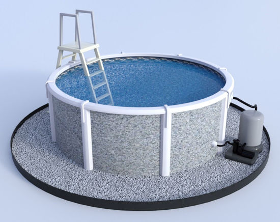 Picture of Above Ground Pool Model FBX Format
