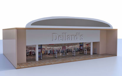 Picture of Modular Mall Large Retail Store Scene Poser Format